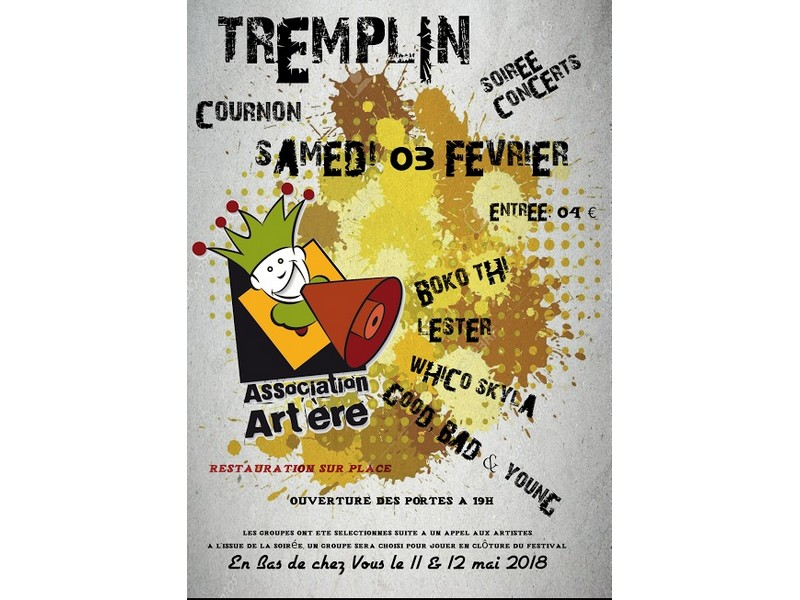 Tremplin à Cournon