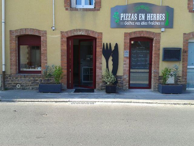 Pizzas en herbes - Breteil